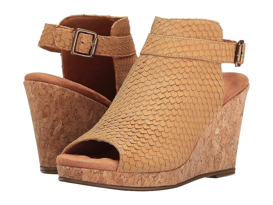 Walking Cradles Kiki (Camel Cut Snake Leather) Women