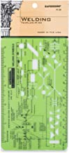 Rapidesign Welding Pocket-Size Template, 1 Each (R34)