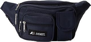 Everest Multiple Pocket Waist Pack, Navy, One Size