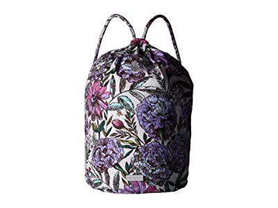 Vera Bradley Iconic Ditty Bag (Lavender Meadow) Bags