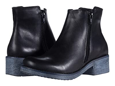 Naot Wander (Black Water Resistant Leather) Women