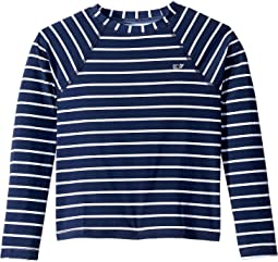 Break Stripe Zip Rashguard (Toddler/Little Kids/Big Kids)