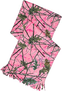 Women's Camouflage Scarf and Glove Gift Set - Soft Micro-fleece material. Great for Hunting and Everyday Wear by Trail Crest