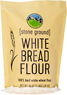 Sponsored Ad - Hard White Wheat Flour • Non-GMO Project Verified • 3 LBS • 100% Non-Irradiated • Certified Kosher Parve • ...