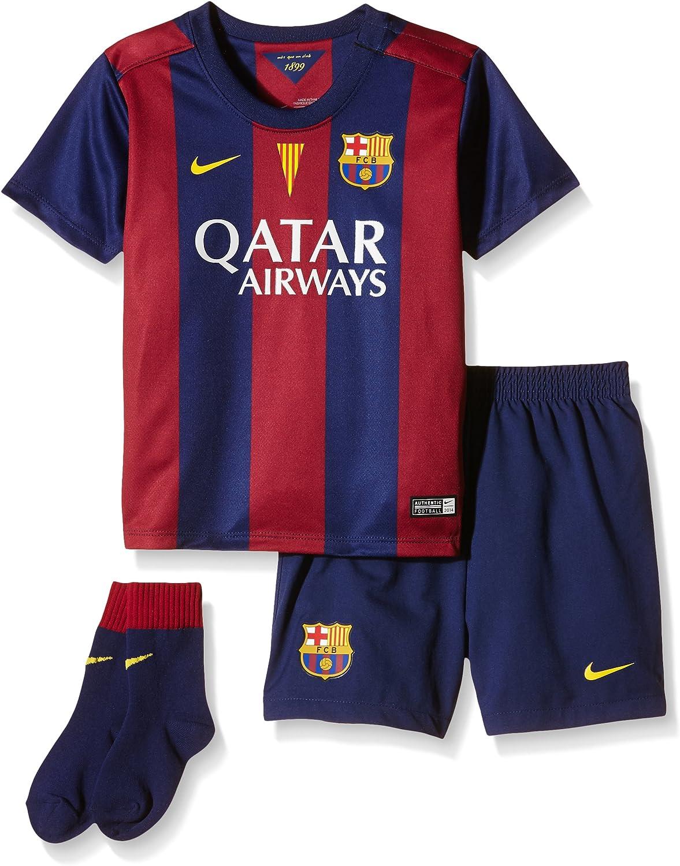 Nike FCB Infants Home Kit Set für Kinder, Unisex, Blau B00KS0JF58  Förderung