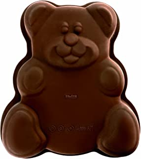 Ibili 871600 Moule forme de petit ours 100% silicone 24x24x5,5 cm