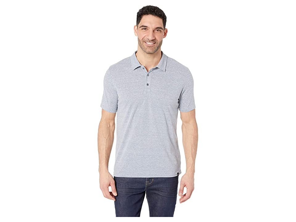 Image of Threads 4 Thought Tri-Blend Baseline Polo (China Blue) Men's Clothing
