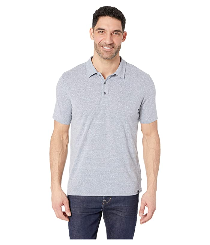 Threads 4 Thought Tri-Blend Baseline Polo (China Blue) Men