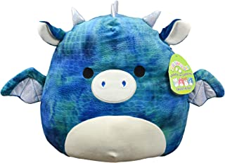 Squishmallow 16in, Dominic The Dragon,Stuffed Animal, Super Pillow Soft Plush Toy, Blue