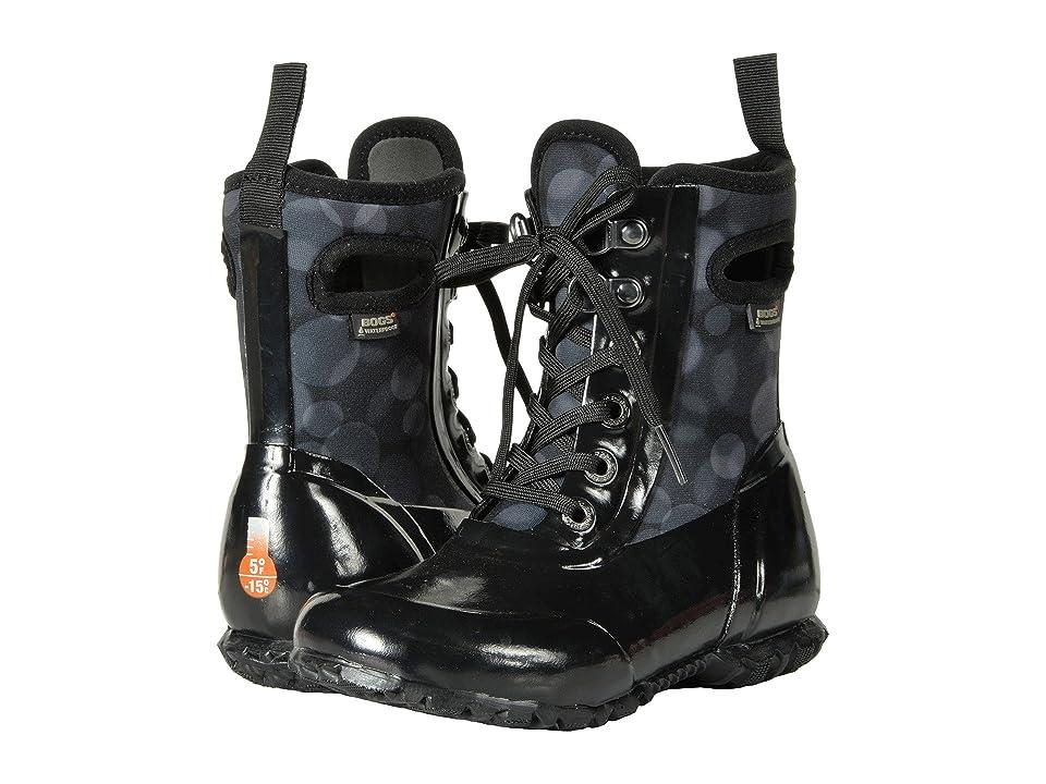 Bogs Kids Sidney Lace Rain (Toddler/Little Kid/Big Kid) (Black Multi) Girls Shoes