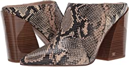 Desert Multi/Pale Blush Exotic Snake Print Leather