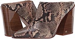 Desert Multi/Pale Blush Exotic Snake Print Leather