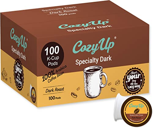 wholesale CozyUp sale new arrival 100-Count Specialty Dark Roast Blend Coffee Pods for Keurig K-Cup Brewers, Dark Roast outlet sale