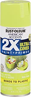 Rust-Oleum 327871-6 PK American Accents Spray Paint, Gloss Key Lime