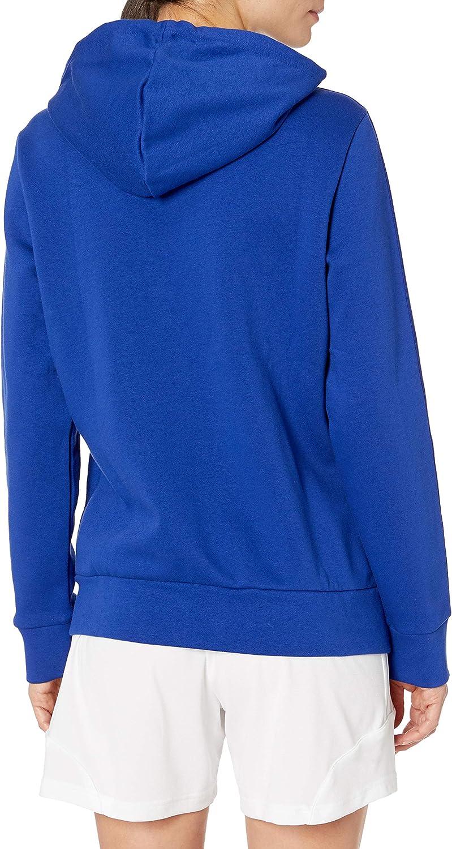 adidas Boys' Athletics Essentials Cotton Fleece 3 Stripes Full-Zip Hoodie