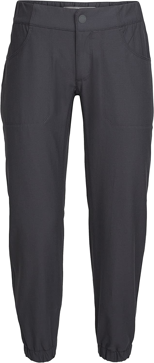 Icebreaker Merino Connection Jogger Travel Pants, New Zealand Merino Wool