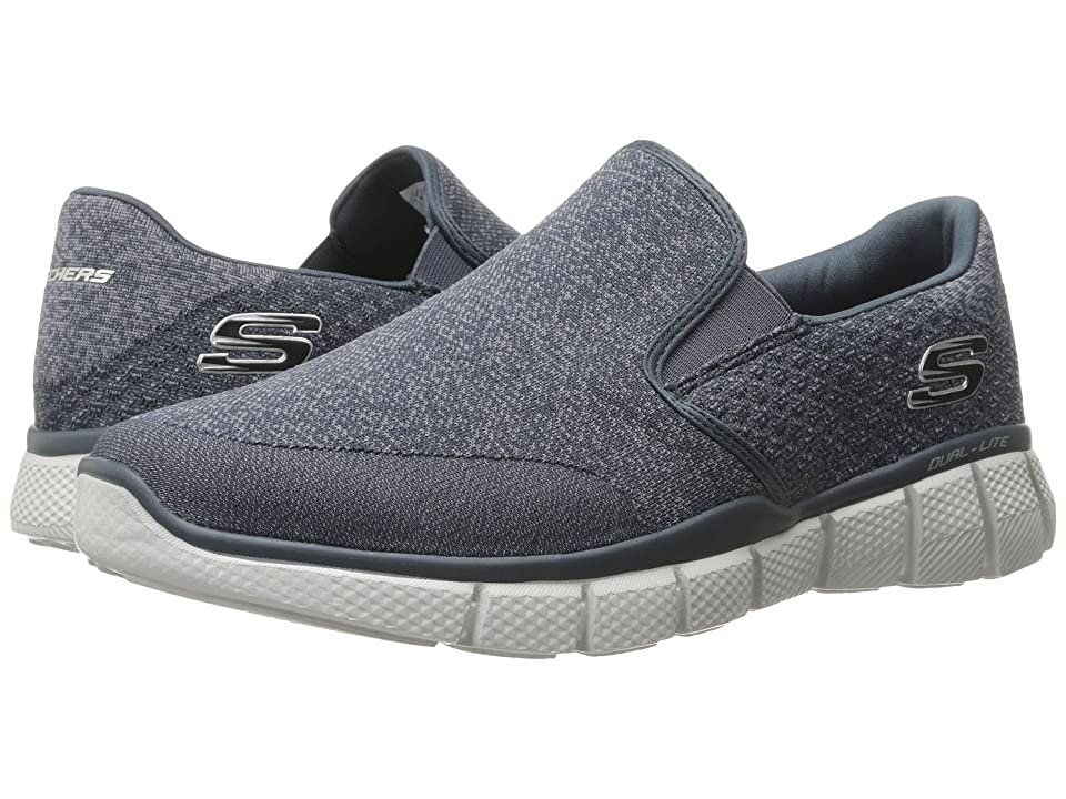 SKECHERS Equalizer 2.0 (Navy/Gray) Men