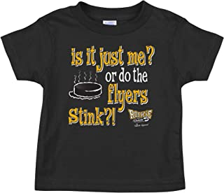 Rookie Wear By Smack Apparel Pittsburgh Hockey Fans. It It Just Me? Or do The Flyers Stink?! Black Onesie (NB-18M) or Toddler Tee (2T-4T)