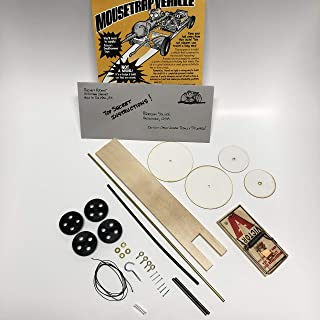Mousetrap Vehicle Car Kit - Project Kit for Building a Mousetrap Car - Create - Race - Compete Using Your Own Fast Mousetrap Car - Great for Student Classroom Projects
