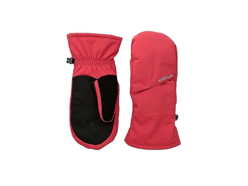 Spyder Kids Astrid Ski Mitten (Little Kids/Big Kids) (Hibiscus/Black) Ski Gloves