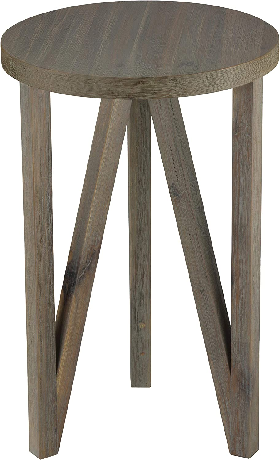 Cortesi Home Tobin End Table in Solid Wood