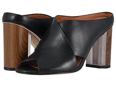Franco Sarto Clara (Black Leather) Women