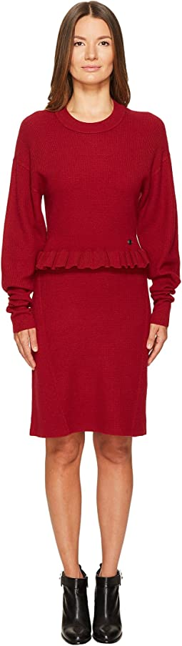 Waffle Knit Dress