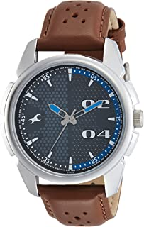 Fastrack Loopholes Grey Dial Analog Watch for Men