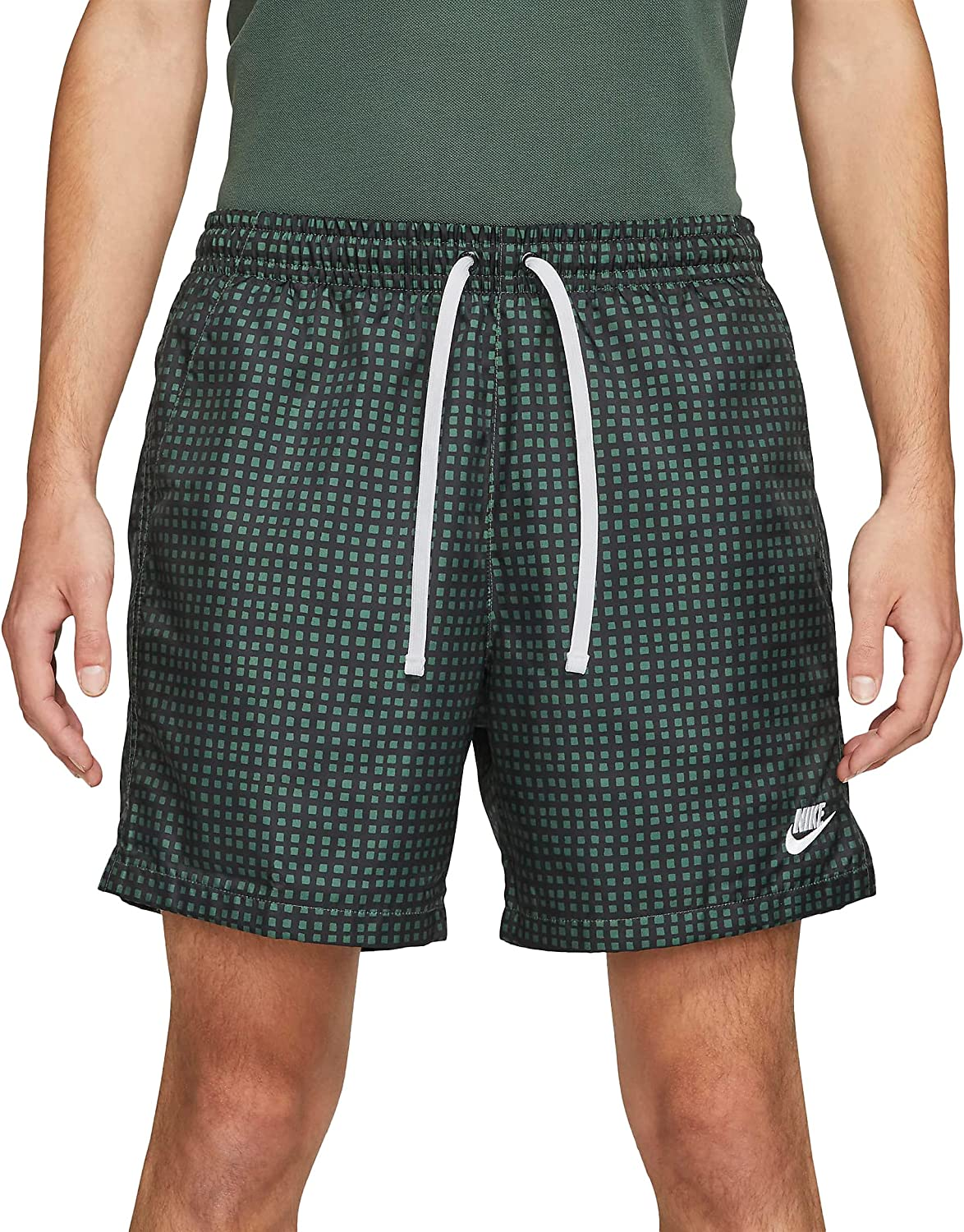 Nike Special price Sportswear Men's Woven Grid DA0051-337 All stores are sold Flow Mens Shorts