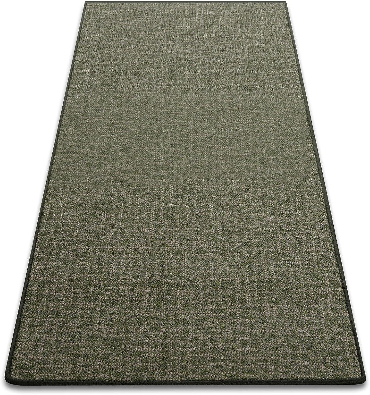 Teppichläufer Bermuda grün Teppich Läufer Brücke 130 130 130 cm breit Meterware robust und unempfindlich 130 x 400 cm B00ICIURYG b4580a