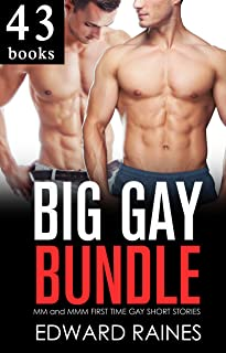 BIG GAY BUNDLE: First Time Gay MM and MMM Short Stories