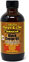 Jamaican Mango & Lime Black Castor Oil 4 oz