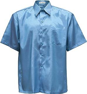 Thai Silk Men's Short Sleeve Shirt