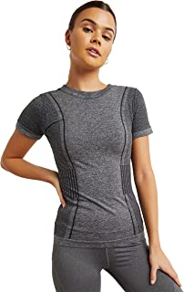 2 Tone Detail Activewear Top with Short Sleeves 30367401 For Women Closet by Styli