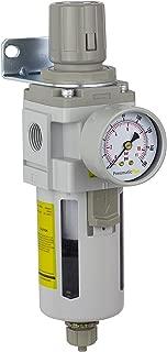 PneumaticPlus SAW4000M-N04BG Compressed Air Filter Regulator Combo Piggyback Style 1/2