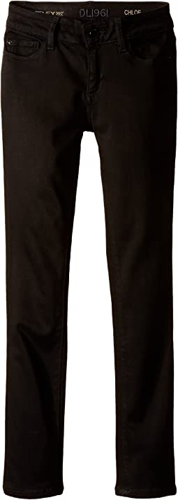 DL1961 Kids Chloe Skinny Jeans in Sharp (Big Kids)