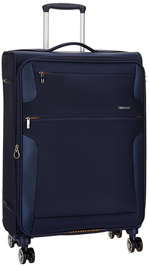 [サムソナイト] スーツケース等 CROSS LITE クロスライト スピナー66 エキスパンダブル 容量拡張機能 無料預入受託サイズ 保証付 74L 70 cm 3.1kg