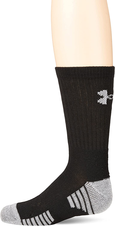 Under Armour Youth Phenom Curry Crew Socks, 3-Pairs