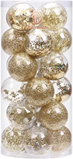 Best red gold and silver christmas decorations Reviews