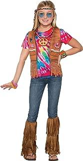 Forum Novelties Kids Hippie Costume, Multicolor, Medium