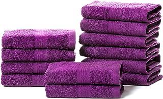 Rare Fig Juegos de Toallas Juego de Regalo de Toalla de algodón Puro Altamente Absorbente para baño, peluquería, Toallas p...