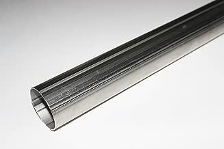 Schlauchland 10cm Edelstahl-Verbinder AD 41mm poliert /& geb/ördelt V2A rostfrei Edelstahlrohr Rundrohr *** Gro/ße Auswahl 6-200 mm Au/ßendurchmesser