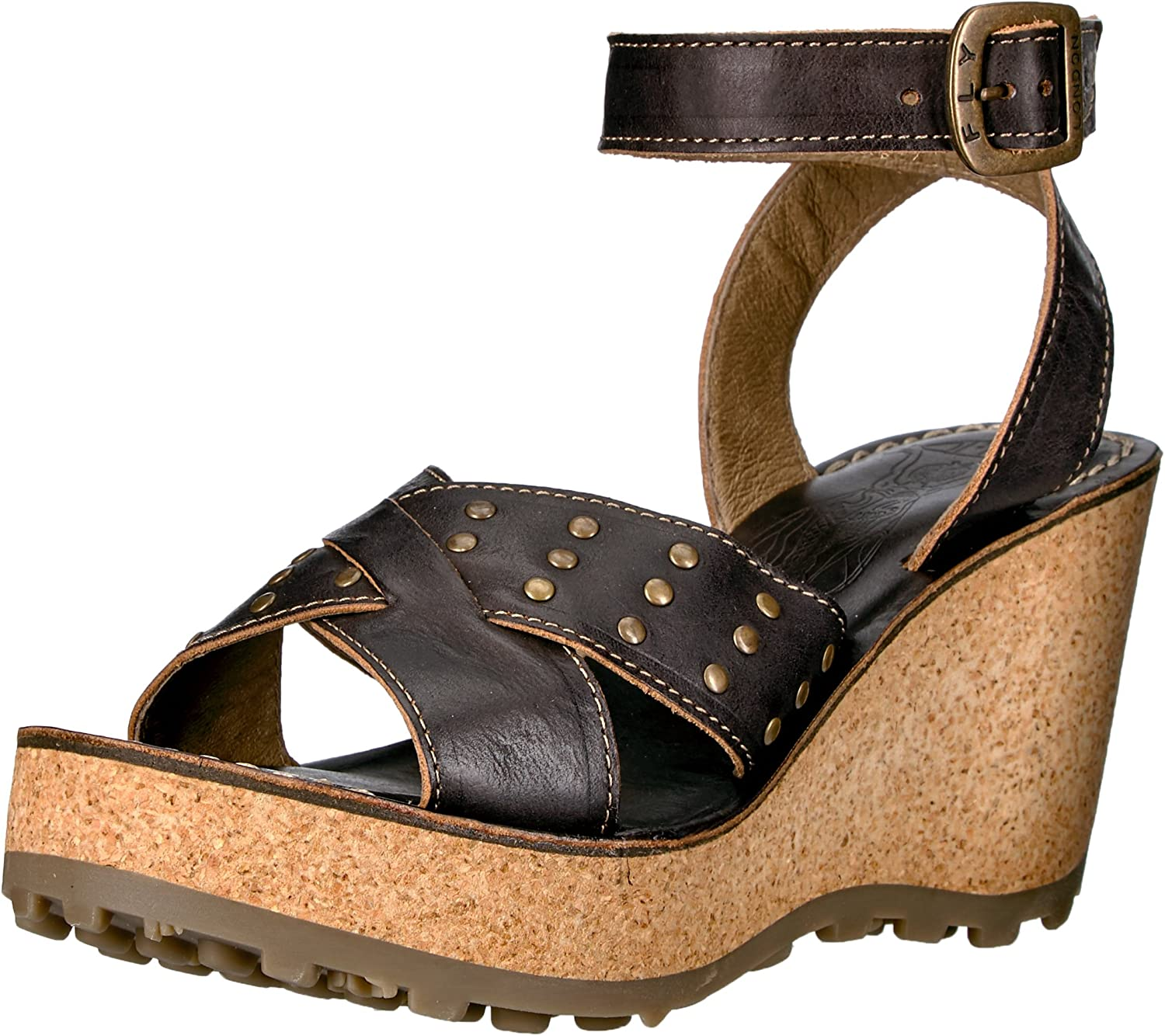 Fly London Womens Gia864fly Wedge Sandal