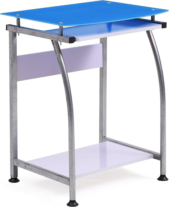 Hodedah HIS818 bluee Import Laptop Desk, bluee