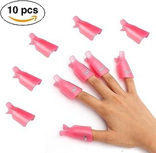 10 Dedos Plásticos Para Uñas - Removedores De Esmalte, Pintura Y Arte De Uñas -