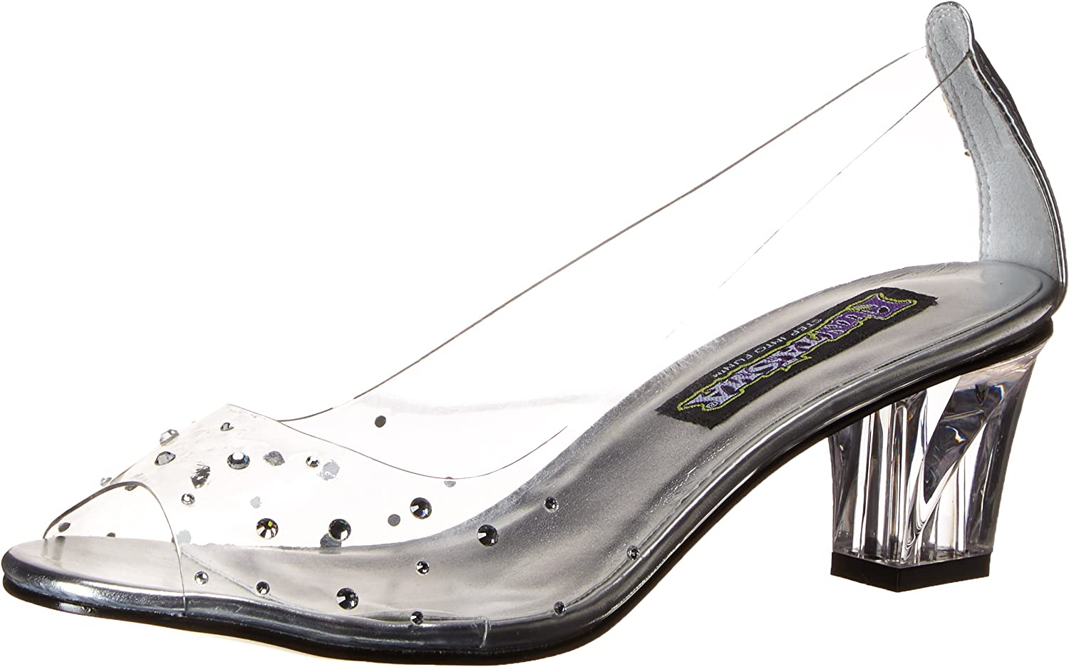 Funtasma Women's Crystal100 Slide Pump