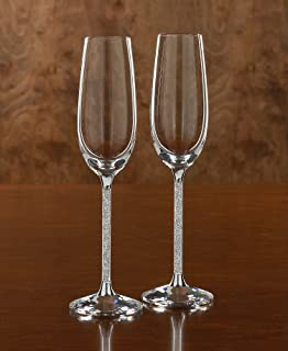 swarovski crystal drinking glasses