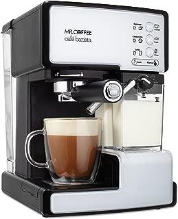 Mr. Coffee BVMC-ECMP1102 Cafe Barista Espresso and Cappuccino Maker, White