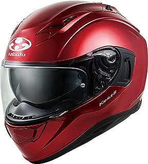 オージーケーカブト(OGK KABUTO)バイクヘルメット フルフェイス KAMUI3 シャイニーレッド (サイズ:M) 584726
