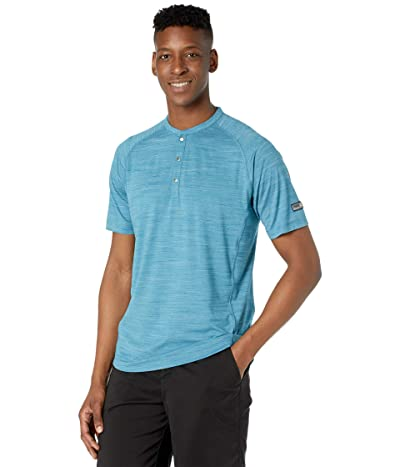 PUMA Golf Cloudspun Henley (Digi Blue) Men